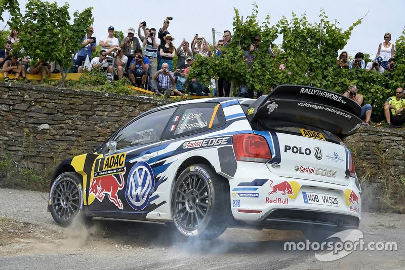 5. Sébastien Ogier, Julien Ingrassia, Volkswagen Polo WRC, Volkswagen Motorsport