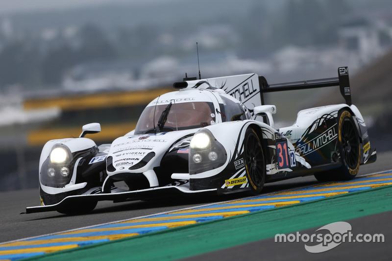 14: #31 Extreme Speed Motorsports Ligier JS P2 - Nissan: Ryan Dalziel, Chris Cumming, Pipo Derani