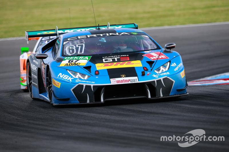 #67 Attempto Racing Team, Lamborghini Huracán GT3: Daniel Zampieri, Patric Niederhauser