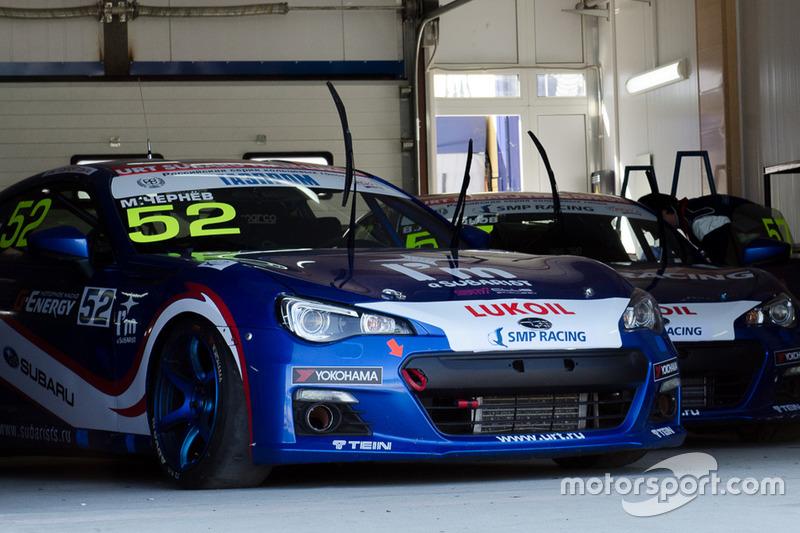 Subaru BRZ команды URT