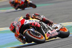 Marc Marquez, Repsol Honda Team met schade van zijn crash