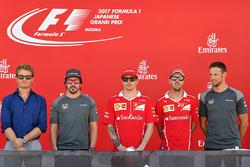 Ніко Росберг, Фернадо Алонсо, McLaren, Кімі Райкконен, Себастьян Феттель, Ferrari, Дженсон Баттон