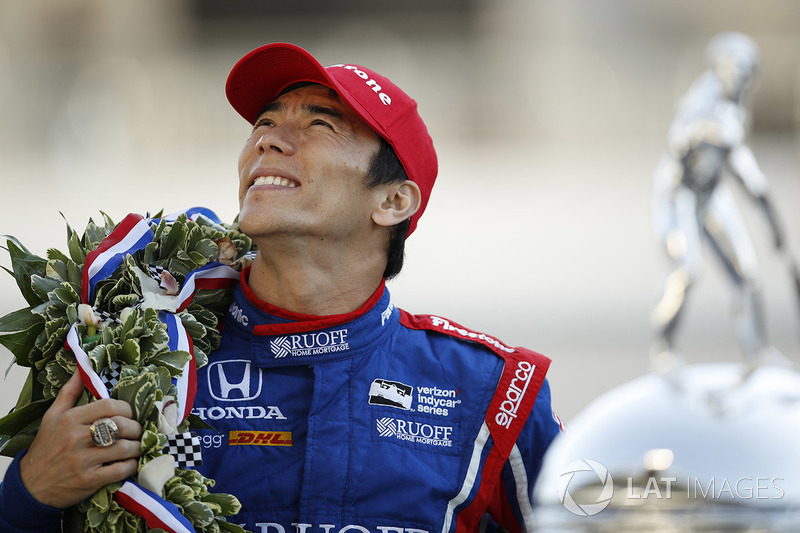 Ganador Takuma Sato, Andretti Autosport Honda