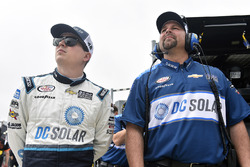 Brennan Poole, Chip Ganassi Racing Chevrolet and Chad Norris