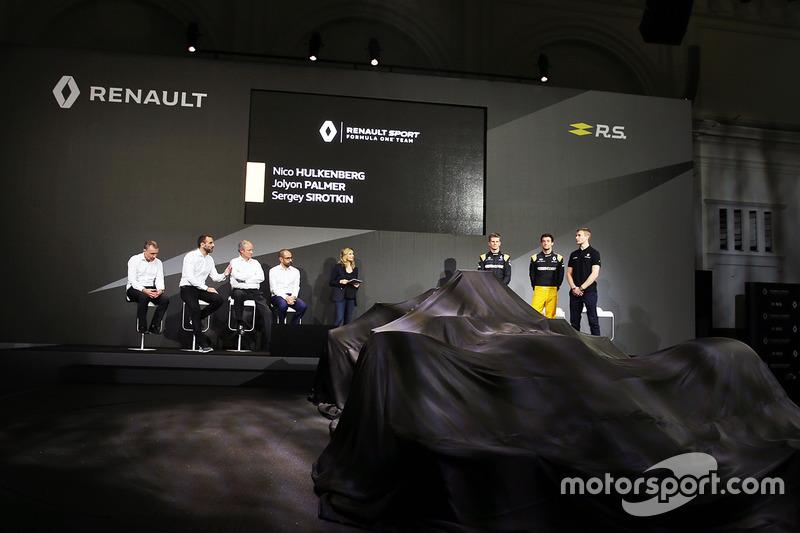 Презентація Renault RS17