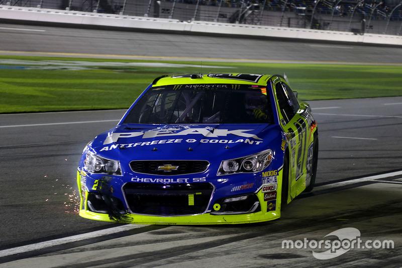 Paul Menard, Richard Childress Racing, Chevrolet, nach Crash
