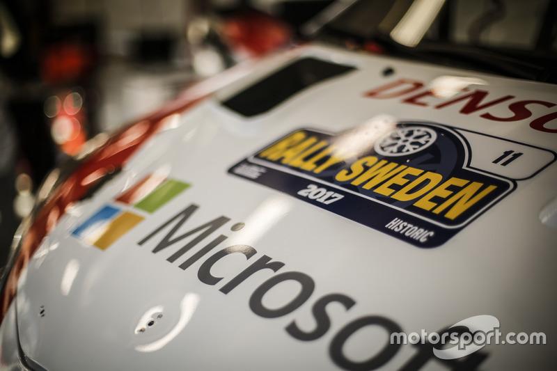 Detalle del Toyota Yaris WRC, Toyota Racing