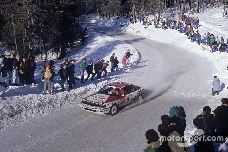 Карлос Сайнс, Луїс Мойя, Toyota Celica GT4