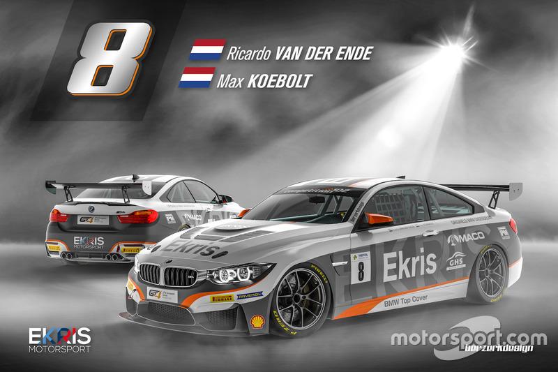 Onthulling livery Ekris Motorsport