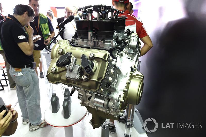 Peluncuran mesin Ducati V4