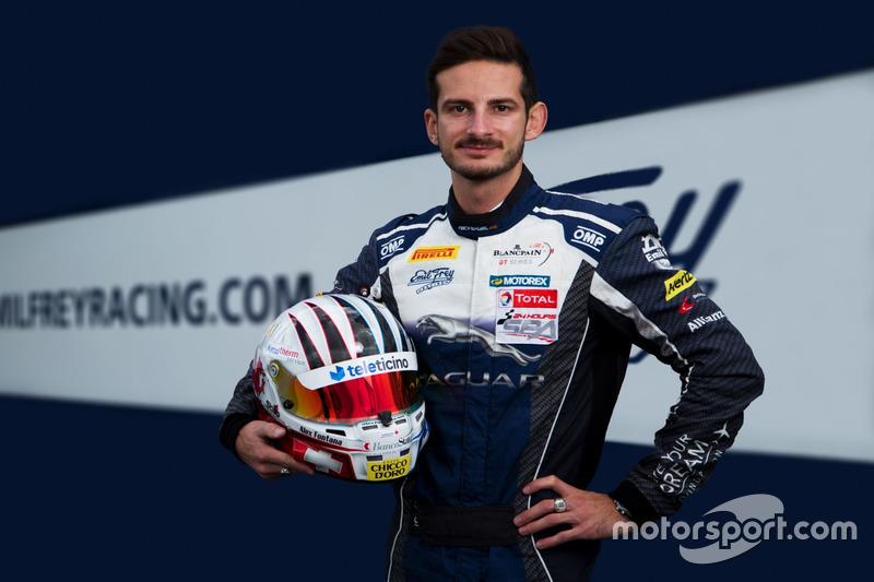Annonce Alex Fontana avec Emil Frey Racing