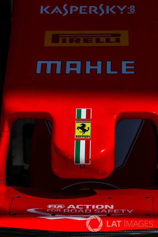 Носова частина Ferrari SF70-H