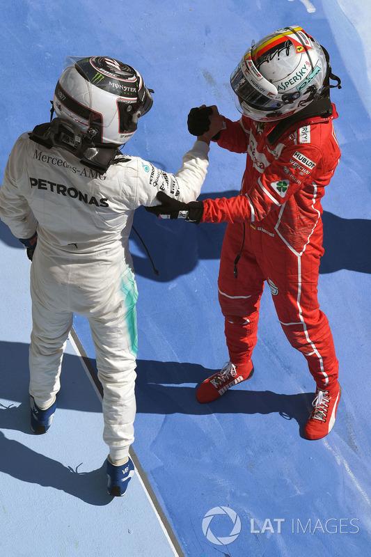 Валттері Боттас, Mercedes AMG F1, Себастьян Феттель, Ferrari