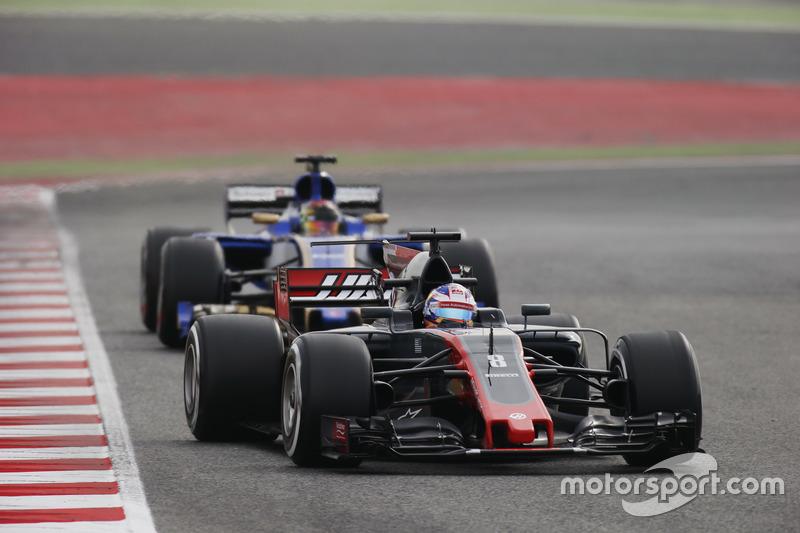 Ромен Грожан, Haas F1 Team VF-17, Паскаль Верляйн, Sauber C36