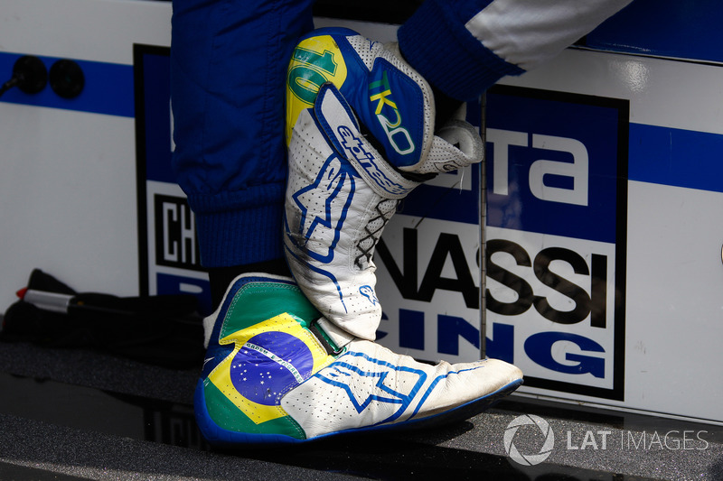 Chaussures de Tony Kanaan, Chip Ganassi Racing Honda