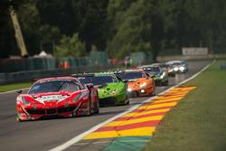 #11 Kessel Racing Ferrari 488 GT3: Michael Broniszewski, Andrea Rizzoli, Matteo Cressoni, Giacomo Piccini