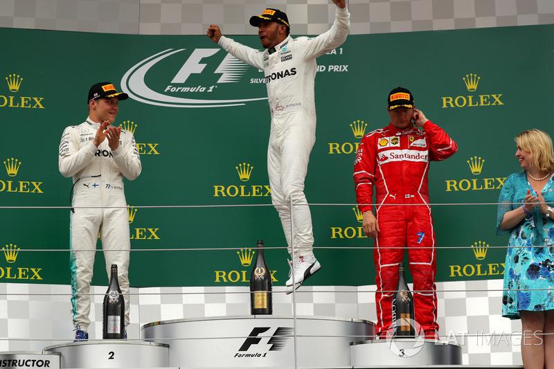 Льюіс Хемілтон, Валттері Боттас, Mercedes AMG F1, Кімі Райкконен