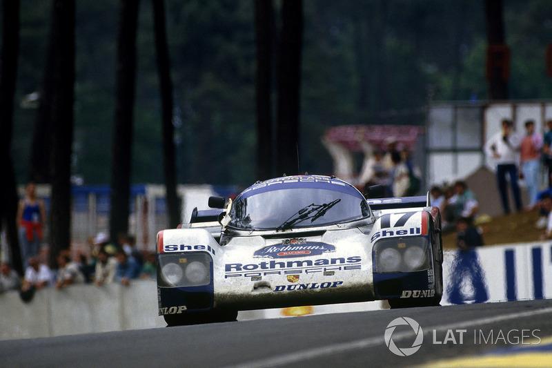 1987: Derek Bell, Hans-Joachim Stuck, Al Holbert, Porsche 962C