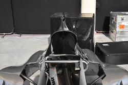 Mercedes AMG F1 W08: Motorenabdeckung