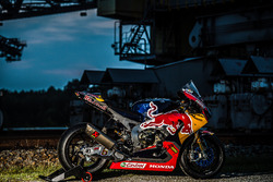 Das Bike von Stefan Bradl, Honda World Superbike Team am F60 Bagger