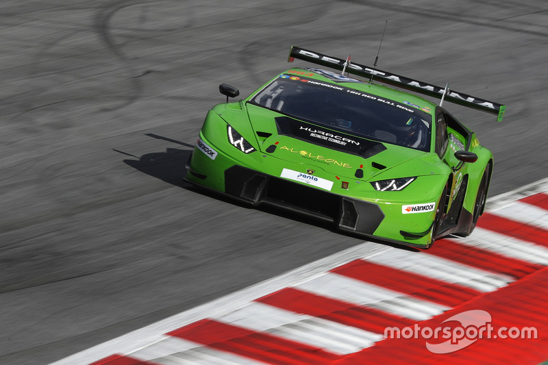 #963 GRT Grasser Racing Team, Lamborghini Huracan GT3: Milos Pavlovic, Christoph Lenz, Mark Ineichen, Roberto Pampanini