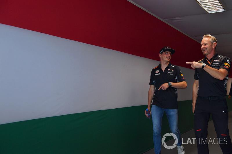 Max Verstappen, Red Bull Racing, Jonathan Wheatley, Red-Bull-Teammanager