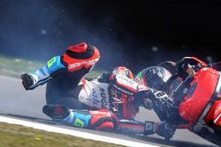 Marco Melandri, Ducati Team crash
