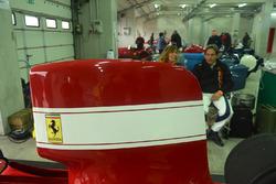 Ferrari 312 B3; Alex Caffi