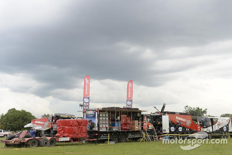 Aspectos del Team Mammoet Rallysport