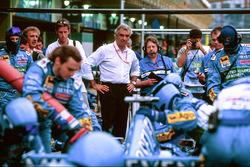 Flavio Briatore, Managing Director Benetton