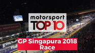 Top 10 Highlights Race | GP Singapura 2018