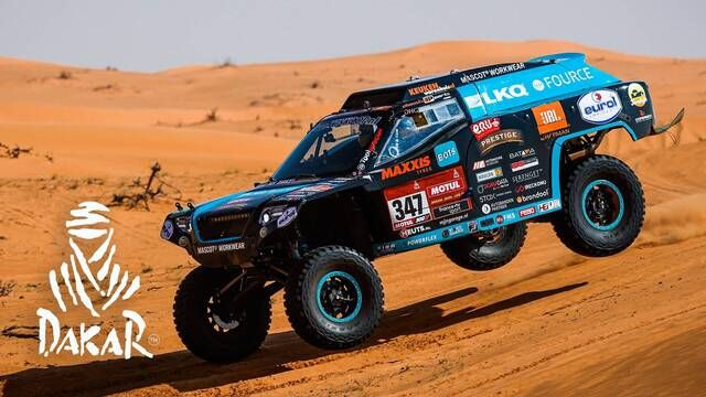 Dakar-Highlights 2021: Etappe 6 - Autos