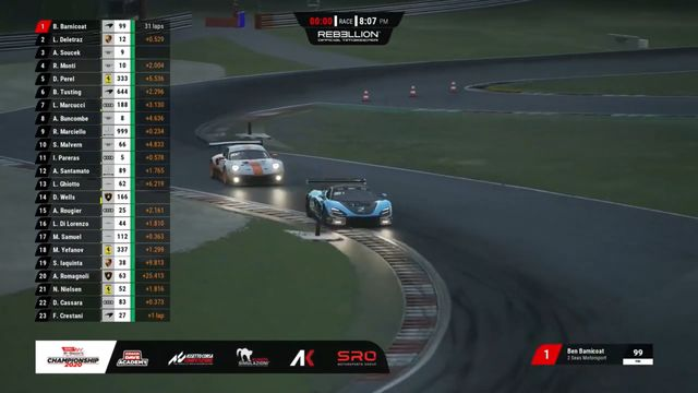 SRO E-Sports GT Series - Nurburgring Pro Race Battle To The Finish