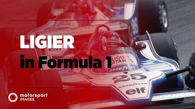 Grand Prix Greats – Ligier in F1