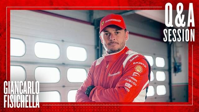 Q&A with Giancarlo Fisichella