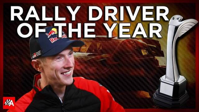 International Rally Driver Of The Year - Autosport Awards 2020