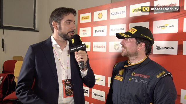 Interview with Ferrari driver Emanuele Maria Tabacchi