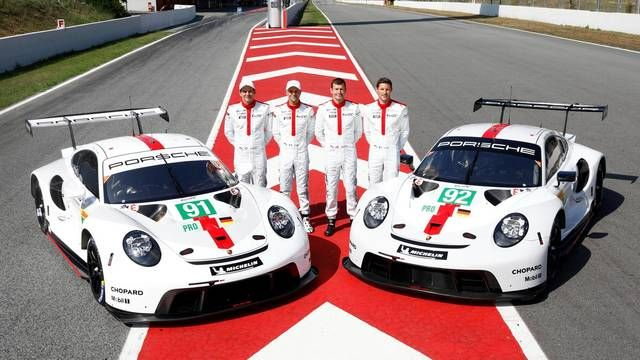 WEC Prologue: Meet the new Porsche 911 RSR