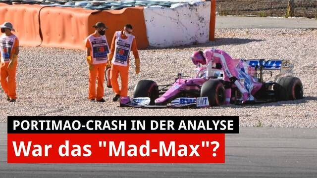Analyse Crash Verstappen vs. Stroll in Portimao