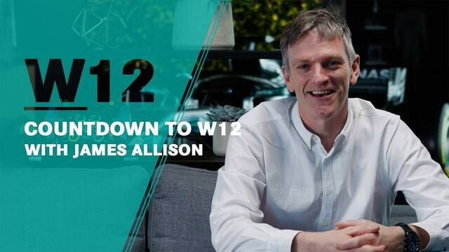 Countdown für den W12 mit James Allison