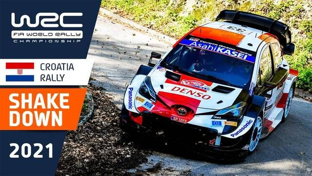 Croatia Rally Shakedown