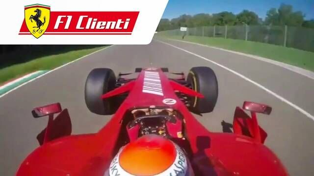 F1 Imola: onboard with Marc Gene in the F2007