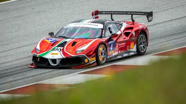 Ferrari Challenge North America: Virginia - Trofeo Pirelli - Race 1 Start