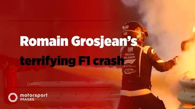 Grand Prix Greats – Romain Grosjean's terrifying F1 crash