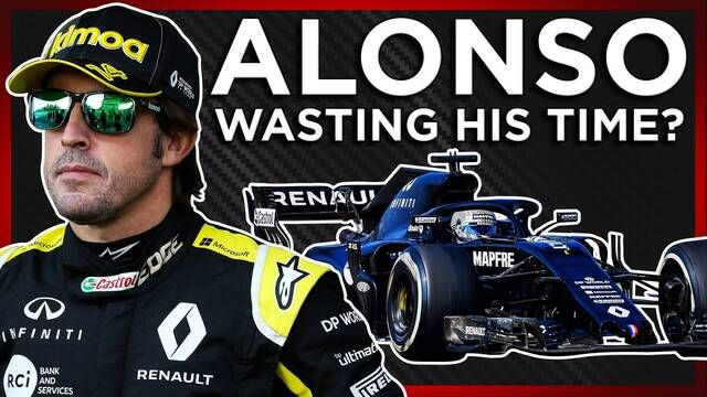 Is Alonso Wasting His Time Testing A 2018 F1 Car?