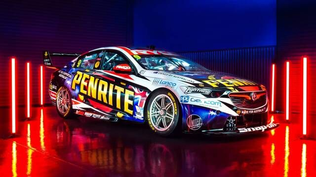 Penrite Racing unveil new Aussie livery