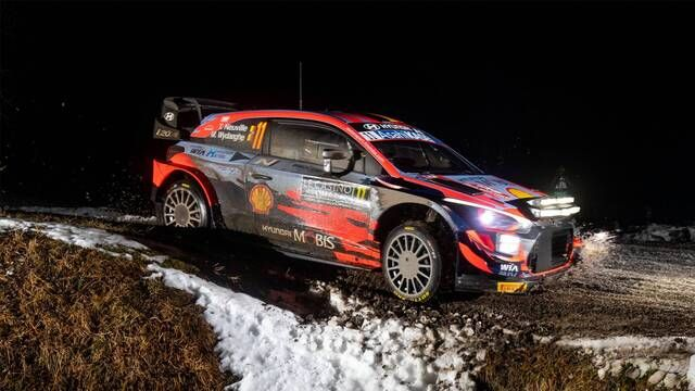 Rally Monte Carlo: Highlights Stages 1-2