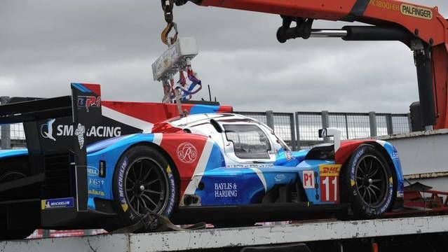 WEC 6 uur Silverstone - Opgave #11 SMP Racing LMP1
