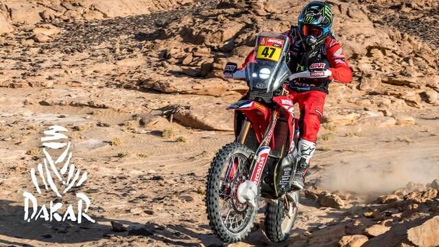 Dakar 2021: Stage 3 Highlights - Bikes