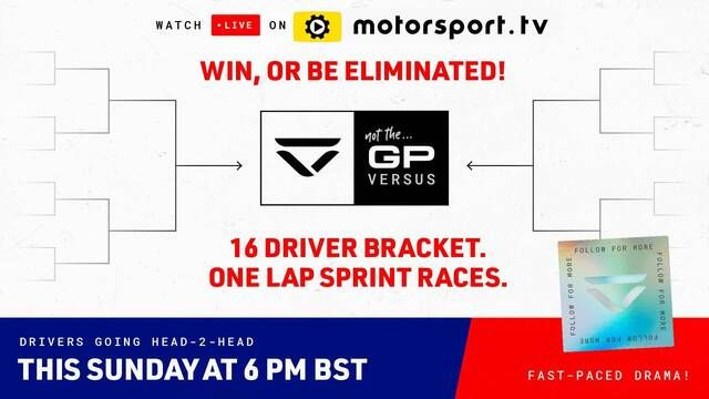 Not The GP 'Versus' by Veloce Esports in Partnership with Motorsport Games